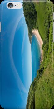 Kinnagoe Bay - iPhone by George Row