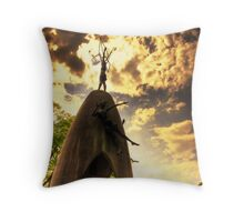 Peace Park Throw Pillow