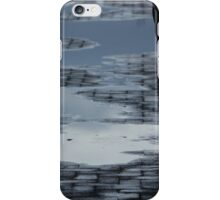 Reflection, Puddles, Lone Man iPhone Case/Skin