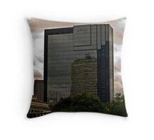 The Hyatt Building Birmingham Throw Pillow