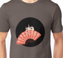 Geisha with Fan Unisex T-Shirt