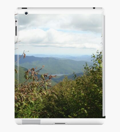 Mountain Lake with a Natural Frame iPad Case/Skin
