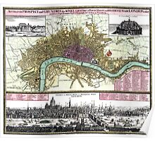 London - England - 1740 Poster