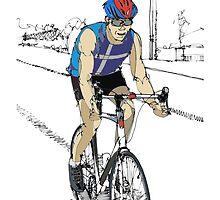 Keep Biking ! by kjadesign