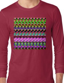 Abstract Digital Art 3 Long Sleeve T-Shirt