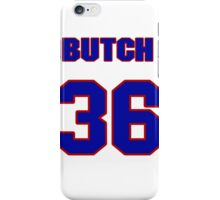 National baseball player Butch Metzger jersey 36 iPhone Case/Skin