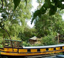 Yellow Barge by InterestingImag