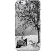 Hold my hand, son iPhone Case/Skin