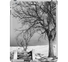 Hold my hand, son iPad Case/Skin