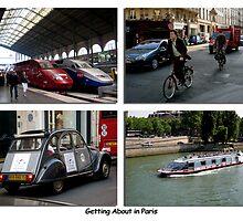 Paris Series 18 Transport in Paris by Keith Richardson