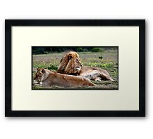 Contented Framed Print