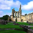 Byland Abbey -6 by Trevor Kersley