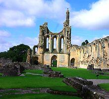 Byland Abbey -6 by Trevor Kersley