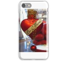 Itty Bitty Ornament With Crown iPhone Case/Skin