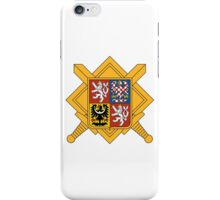 Military of Czech Republic Coat of Arms iPhone Case/Skin