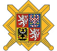 Military of Czech Republic Coat of Arms Photographic Print