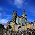 Byland Abbey -2 by Trevor Kersley
