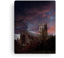 Worcester Cathedral Canvas Print