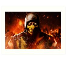 Mortal Kombat - Scorpion Art Print