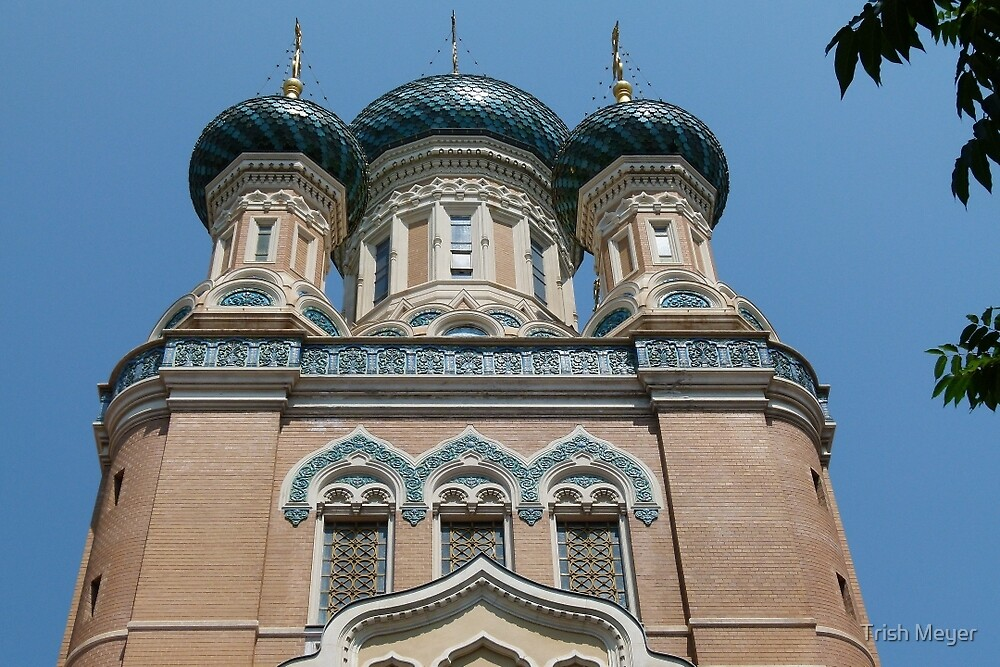 St Nicholas Orthodox Cathedral, Nice by Trish Meyer