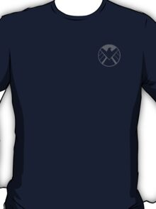 Agents of SHIELD / Dark Gray Reversed T-Shirt