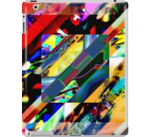 Colorful Collage Cube iPad Case/Skin