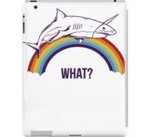Rainbow Shark iPad Case/Skin