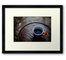 already cold Framed Print