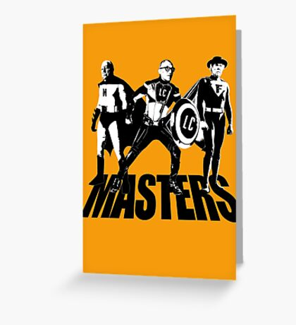 Masters Of Architecture T-Shirt Greeting Card