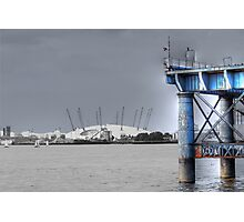 O2 Arena, Greenwich Photographic Print