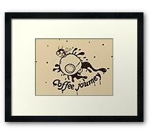 Coffee Journey Framed Print
