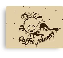 Coffee Journey Canvas Print