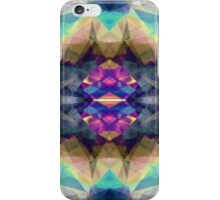 Abstract Symmetrical Coloration iPhone Case/Skin