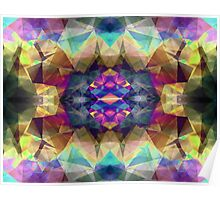 Abstract Symmetrical Coloration Poster
