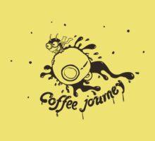 Coffee Journey Kids Tee