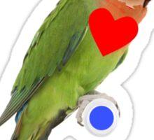 Lady Lovebird - Parrot Chick Sticker