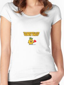 The Dangerously Cute Super Fruit Women's Fitted Scoop T-Shirt