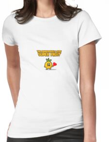 The Dangerously Cute Super Fruit Womens Fitted T-Shirt