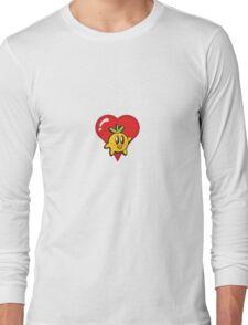 The Return of the Dangerously Cute Super Fruit Long Sleeve T-Shirt