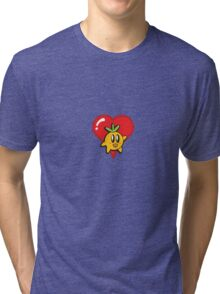 The Return of the Dangerously Cute Super Fruit Tri-blend T-Shirt