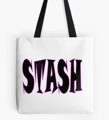 STASH ... White Tote Bag