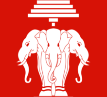 Laos Flag Sticker