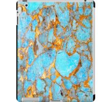 Turquoise and Gold iPhone / Samsung Galaxy Case iPad Case/Skin