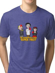 Attack of The Dangerously Cute Super Fruit Tri-blend T-Shirt