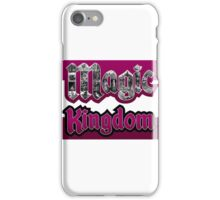 Attractions of Magic Kingdom iPhone Case/Skin