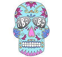Pi Beta Phi Sugar Skull Photographic Print