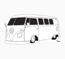 VW Type 2 Micro Bus by Tedri