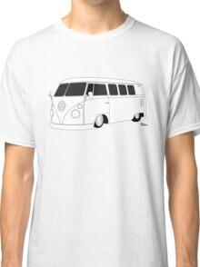 VW Type 2 Micro Bus Classic T-Shirt