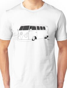 VW Type 2 Micro Bus Unisex T-Shirt