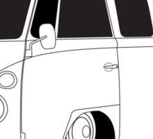 VW Type 2 Micro Bus Sticker